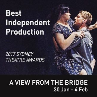 "Winner of Best Independent Production and Best Female Support Actor in the 2017 Sydney Theatre Awards, this thrilling drama is a must-see. ★★★★★ ""...excellent performances across the board in a production that keeps you on the edge of your seat. Unmissable."" Jo Litson, Daily Telegraph ★★★★½ ""... Arthur Miller's tragedy makes your heart race. I haven't experienced a more gripping night in a theatre this year."" Jason Blake, The Sydney Morning Herald, 2017 Direct from a sell-out season at the Old Fitz Theatre, book now to ensure you don't miss out on this gripping production: glenstreet.com.au/whats-on/view-bridge #GlenStreetTheatre #SydneyTheatre #SydneyTheatreAwards #AViewFromTheBridge #RedlineProductions"