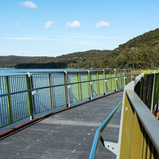 Get walking this weekend - the new over water boardwalk part of the Narrabeen Lagoon Trail is open! Enjoy.