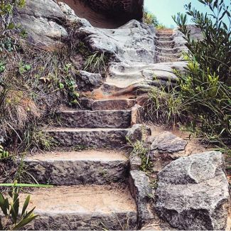 Who recognises these stairs? In fact, who's going to be going up them this weekend? 🌞 📷 @balancing.act_