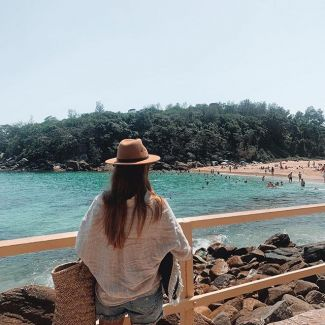 A lovely walk, great for a snorkel, swim or picnic. Shelly Beach is truly a dream! @getabloodyjob