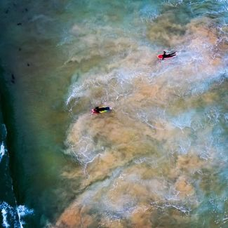 Many consider Manly to be the birthplace of Australian surfing - its even one of the worlds five surfing reserves. @dronesurfsydney