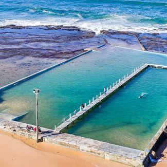 North Narrabeen rockpool's looking pretty inviting! Who's ready for a dip? @mozimage
