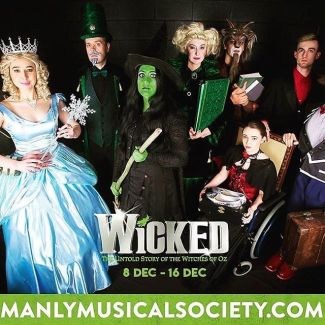 WICKED tells the incredible untold story of what happened in the Land of Oz... but from a different angle! Don't miss the opportunity to see this incredible musical by @manly_musicalsociety at Glen Street. Fri 8 Dec - Sat 16 Dec Last tickets on sale now at: glenstreet.com.au/whats-on/wicked #theatre #glenstreettheatre #wicked #wickedthemusical
