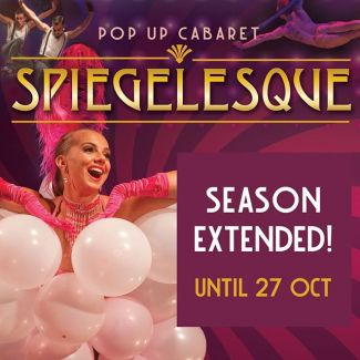 --- SEASON EXTENDED UNTIL 27 OCT --- Leave your real life at the door and step into Spiegelesque. Be lured into the majestic world of cabaret, comedy, circus and burlesque. Spiegelesque - Pop Up Cabaret glenstreet.com.au/whats-on/spiegelesque