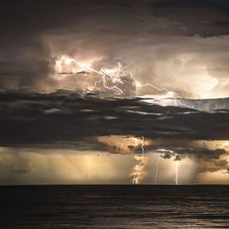 @risingsunphotographysydney got this awesome shot from the storm a few weeks ago!