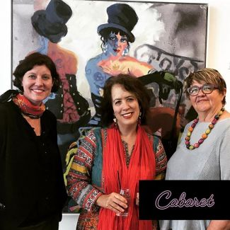 If you thought you missed the #CabaretInTheGlen festival? Think again. The Cabaret Art Exhibition will run until the 29 October. 10am- 4pm Monday to Friday. Saturday and Sunday during show times and features internationally acclaimed artist Wendy Sharpe. #CabaretInTheGlen #GlenStreetTheatre #art #artexhibition #WendySharpe