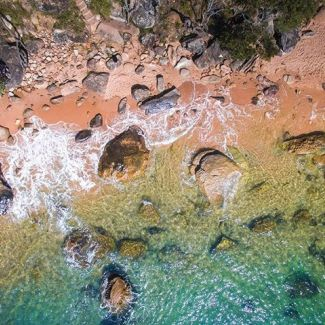 @allskydrones captured this seriously good photo of West Head Beach!