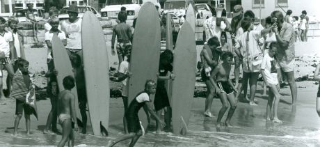 Collaroy Beach 1970s. Courtesy Dee Why Library Local Studies