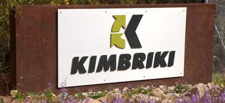 Kimbriki Resource Recovery Centre sign