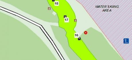 Manly Dam Section 2 Table Map