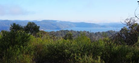 View from Basin Track Indigenous walk