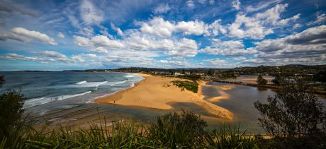 North Narrabeen Beach and Narrabeen Lagoon