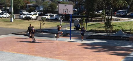 St Matthews Farm Basketball Court